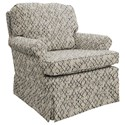 Best Home Furnishings Patoka Swivel Glider Club Chair  - Item Number: 2617-26083