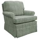 Best Home Furnishings Patoka Swivel Glider Club Chair  - Item Number: 2617-33022