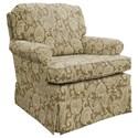 Best Home Furnishings Patoka Swivel Glider Club Chair  - Item Number: 2617-34069