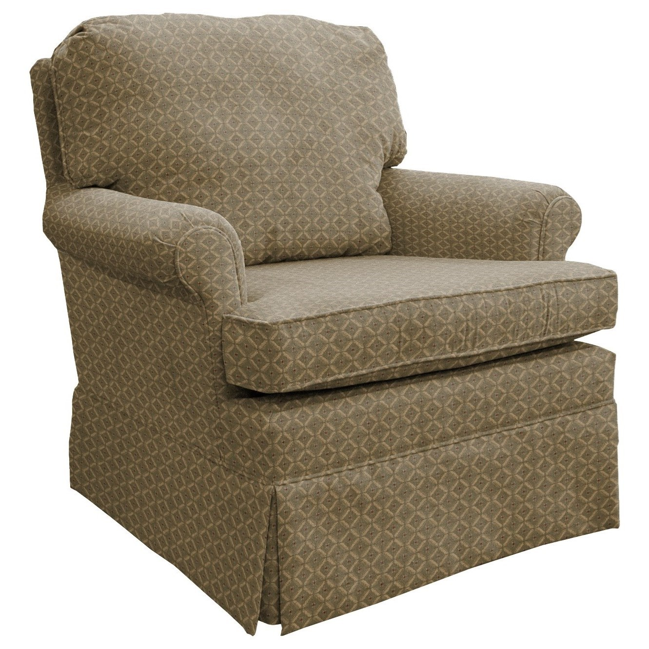 Best Home Furnishings Patoka Swivel Rocking Club Chair  - Item Number: 2619-18021