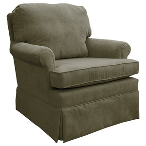 Vendor 411 Patoka Swivel Rocking Club Chair