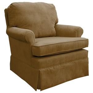 Swivel Rocking Club Chair