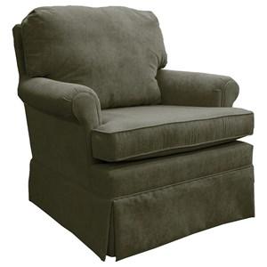 Best Home Furnishings Patoka Swivel Rocking Club Chair