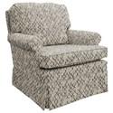 Best Home Furnishings Patoka Swivel Rocking Club Chair  - Item Number: 2619-26083