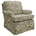 Best Home Furnishings Patoka Swivel Rocking Club Chair  - Item Number: 2619-28529