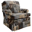 Best Home Furnishings Patoka Swivel Rocking Club Chair  - Item Number: 2619-28586