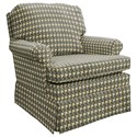 Best Home Furnishings Patoka Swivel Rocking Club Chair  - Item Number: 2619-32183B