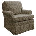Best Home Furnishings Patoka Swivel Rocking Club Chair  - Item Number: 2619-33893