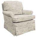 Best Home Furnishings Patoka Swivel Rocking Club Chair  - Item Number: 2619-34597