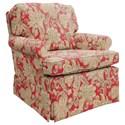 Best Home Furnishings Patoka Swivel Rocking Club Chair  - Item Number: 2619-35858