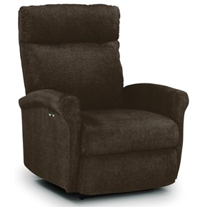 Best Home Furnishings Recliners - Petite Swivel Glider Recliner