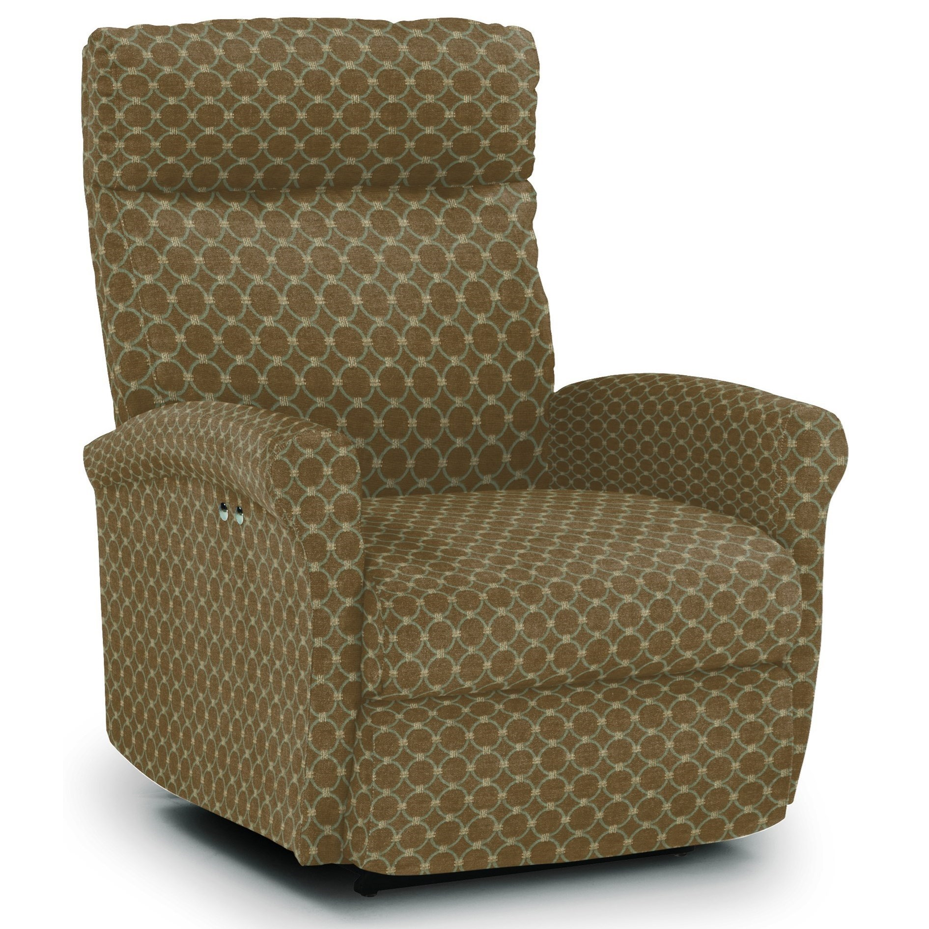Best Home Furnishings Recliners - Petite Swivel Glider Recliner - Item Number: -2060136600-25796