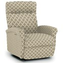 Best Home Furnishings Recliners - Petite Swivel Glider Recliner - Item Number: -2060136600-28843