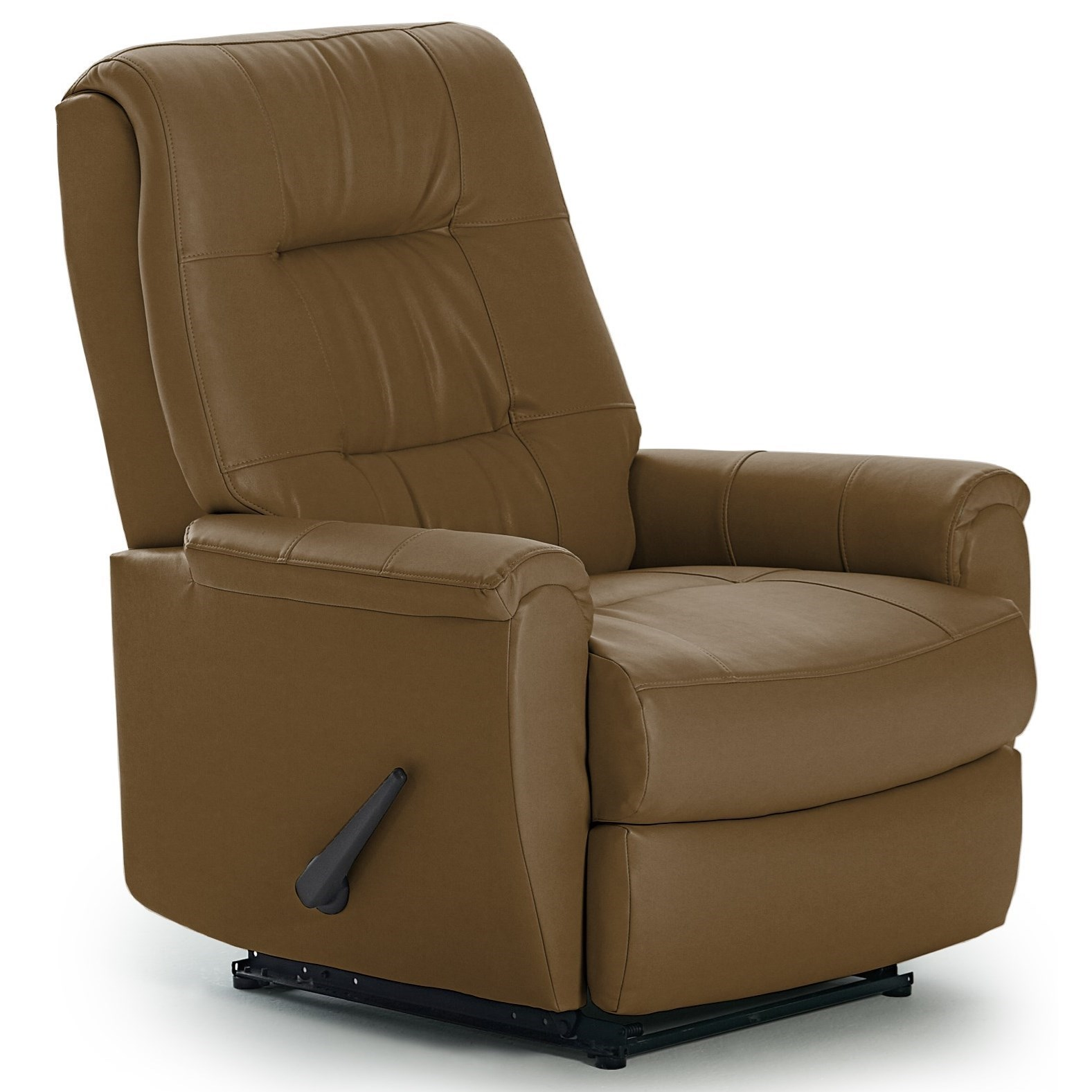 Best Home Furnishings Recliners - Petite Rocker Recliner - Item Number: -2083364182-25276