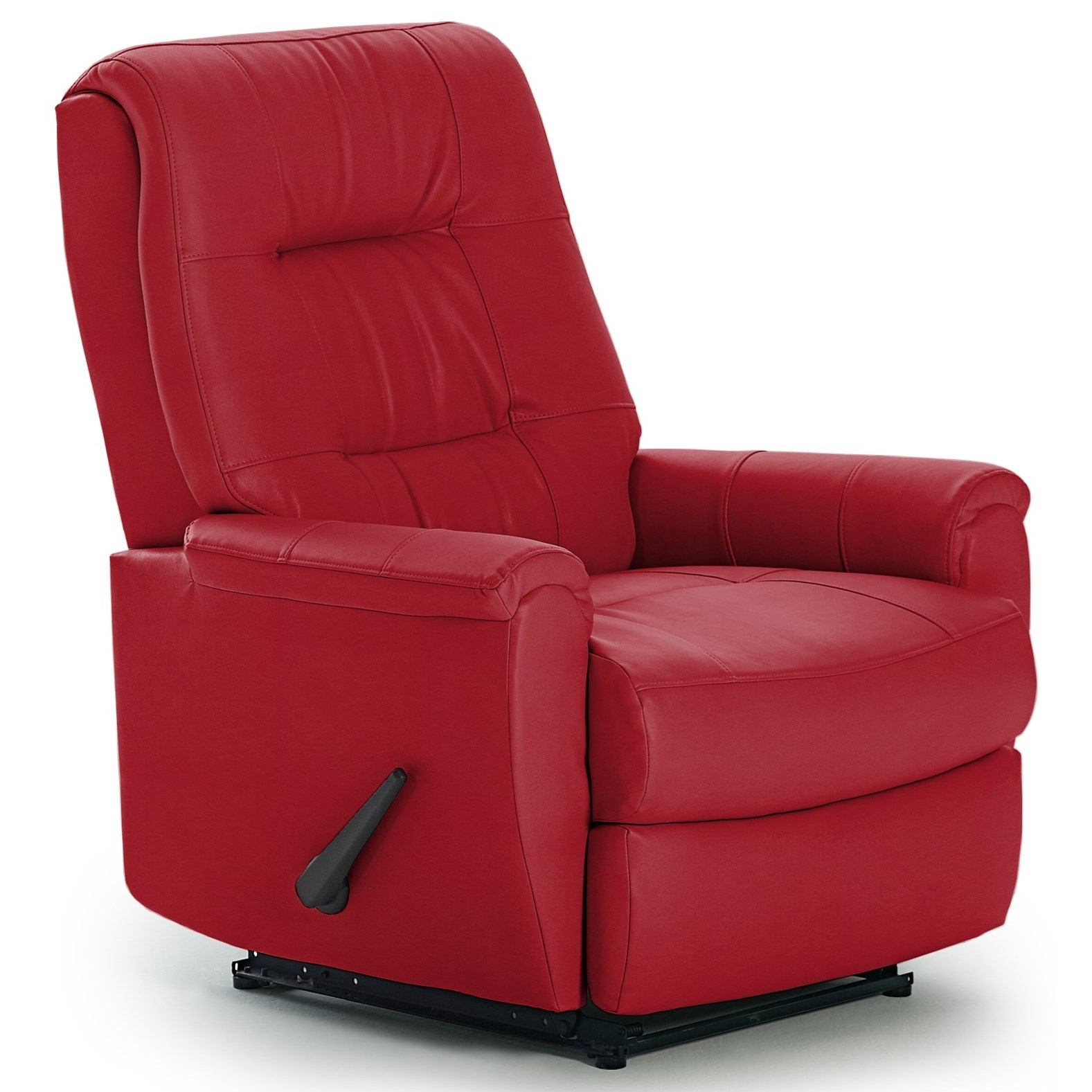 Best Home Furnishings Recliners - Petite Rocker Recliner - Item Number: -2083364182-28598U