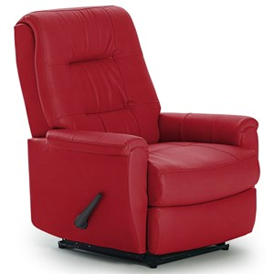 Best Home Furnishings Recliners - Petite Rocker Recliner  sc 1 st  Stuckey Furniture & Leather and Faux Leather Furniture | Mt. Pleasant Bluffton and ... islam-shia.org