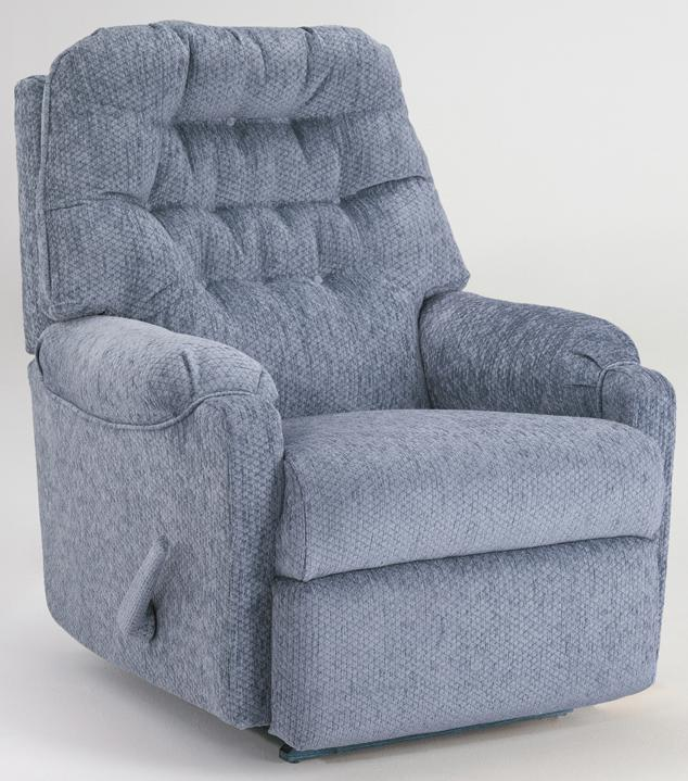 Best Home Furnishings Recliners - Petite Sondra Swivel Glider Recliner - Item Number: 1AW25