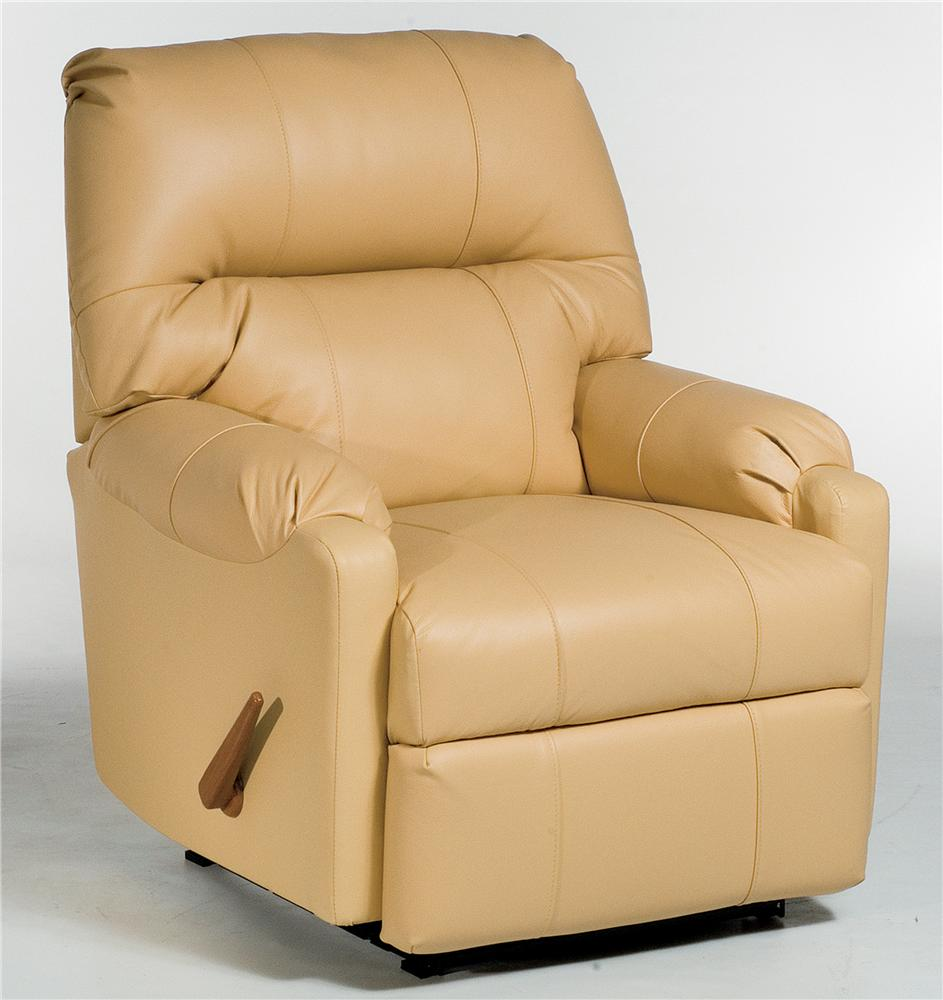 Best Home Furnishings Recliners - Petite JoJo Recliner Rocker - Item Number: 1AW34LV