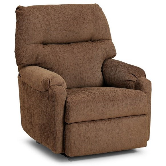Best Home Furnishings Recliners - Petite JoJo Reclining Rocker - Item Number: 1AW37