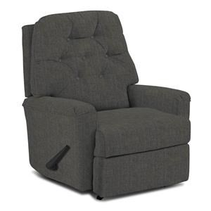 Best Home Furnishings Petite Recliners Swivel Rocker Recliner
