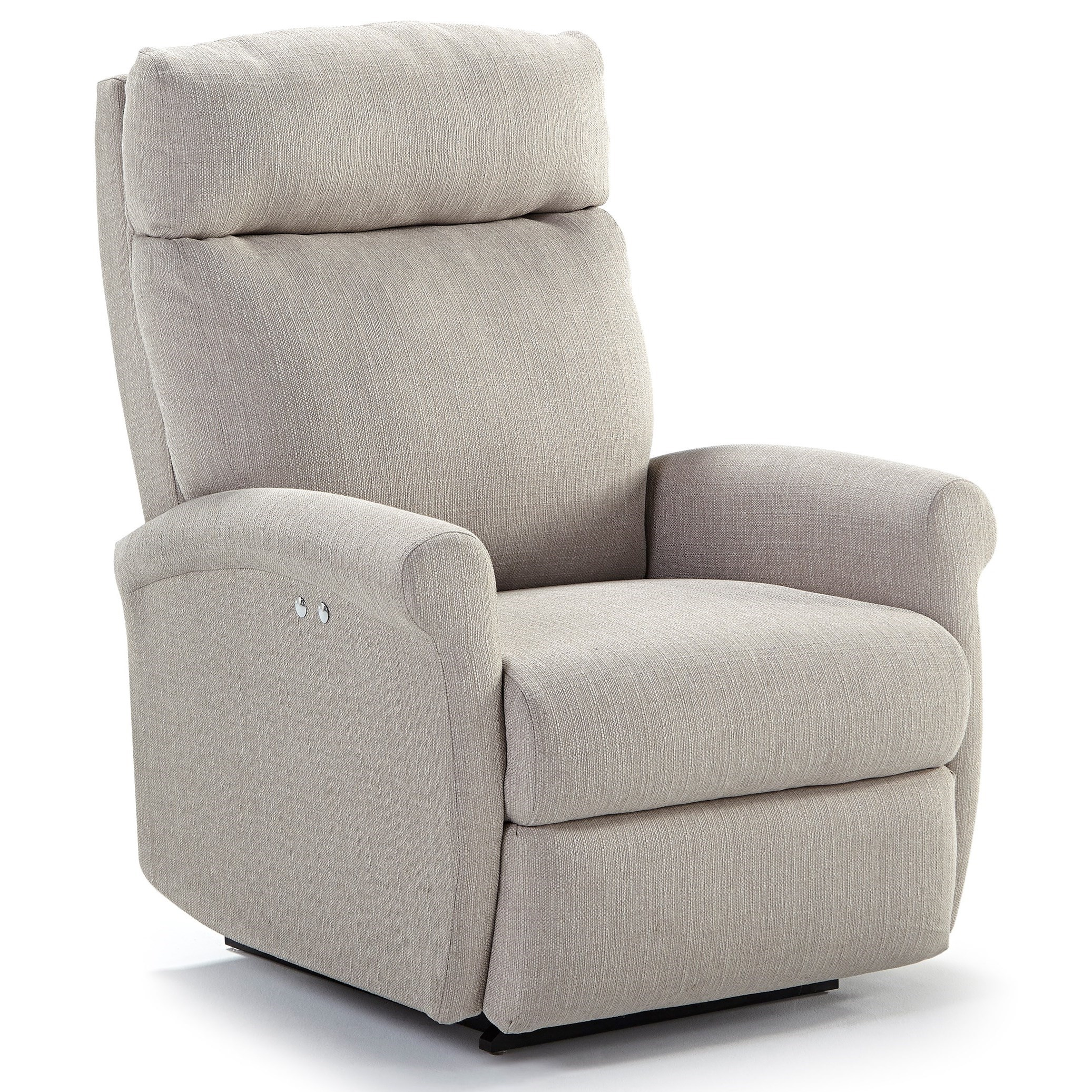 Best Home Furnishings Recliners - Petite Power Space Saver Recliner - Item Number: 1NP04-21609