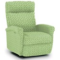 Best Home Furnishings Recliners - Petite Power Space Saver Recliner - Item Number: 1NP04-28451