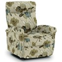 Best Home Furnishings Recliners - Petite Power Space Saver Recliner - Item Number: 1NP04-29139
