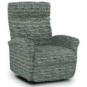 Best Home Furnishings Recliners - Petite Power Space Saver Recliner - Item Number: 1NP04-31432