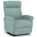 Best Home Furnishings Recliners - Petite Power Space Saver Recliner - Item Number: 1NP04-33542B