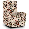 Best Home Furnishings Recliners - Petite Power Space Saver Recliner - Item Number: 1NP04-34037