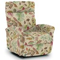 Best Home Furnishings Recliners - Petite Power Space Saver Recliner - Item Number: 1NP04-34389