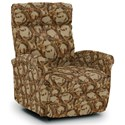 Best Home Furnishings Recliners - Petite Power Space Saver Recliner - Item Number: 1NP04-34536
