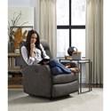 Best Home Furnishings Recliners - Petite Costilla Swivel Rocker Recliner