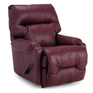 Best Home Furnishings Recliners - Petite Dewey Power Rocker Recliner