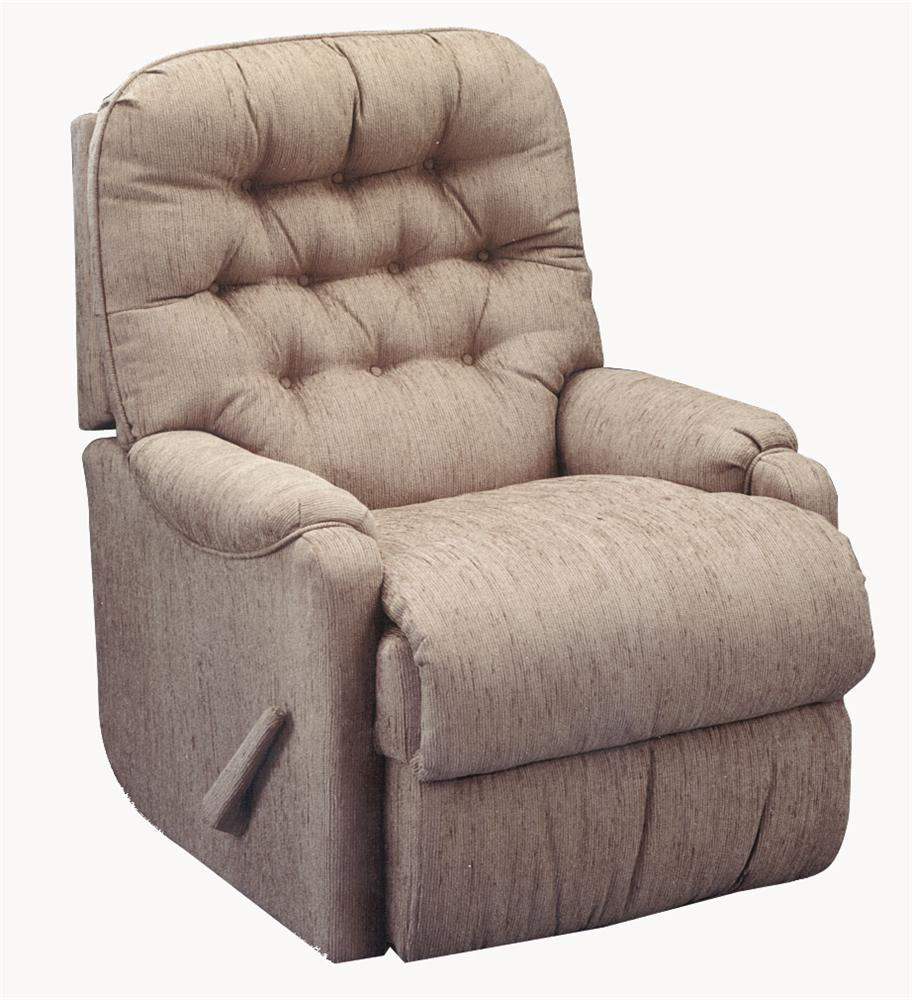Best Home Furnishings Recliners - Petite Brena Swivel Rocker Recliner - Item Number: 9AW29