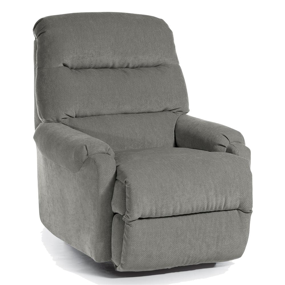 Best Home Furnishings Recliners - Petite Sedgefield Rocker Recliner - Item Number: 9AW67