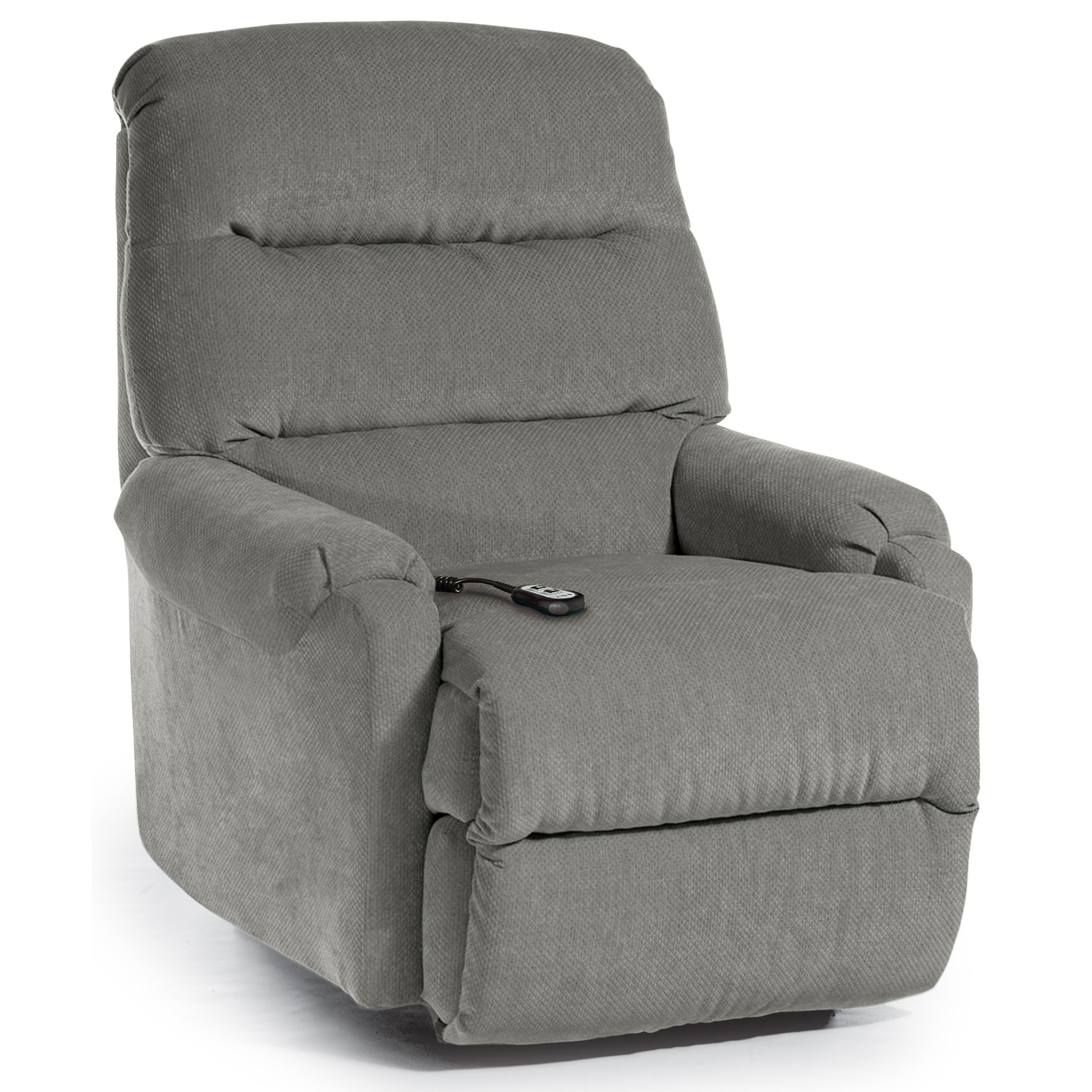 Best Home Furnishings Recliners - Petite Sedgefield Power Lift Recliner - Item Number: 9AW61