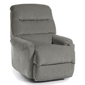 Best Home Furnishings Recliners - Petite Sedgefield Rocker Recliner