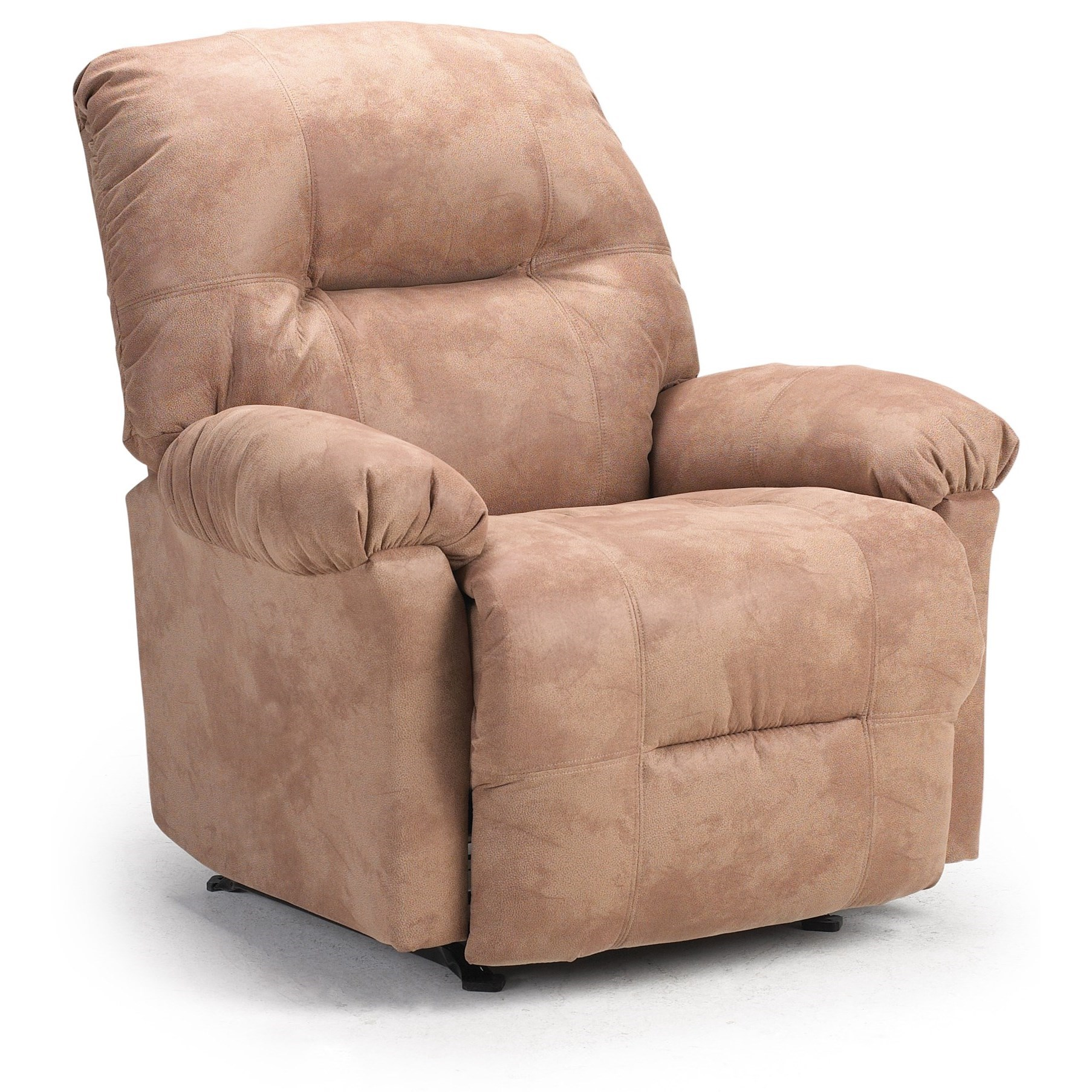 Best Home Furnishings Recliners Petite Wynette Swivel Rocking Reclining Chair Furniture