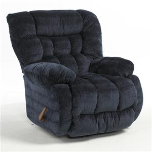 Best Home Furnishings Plusher Power Rocker Recliner