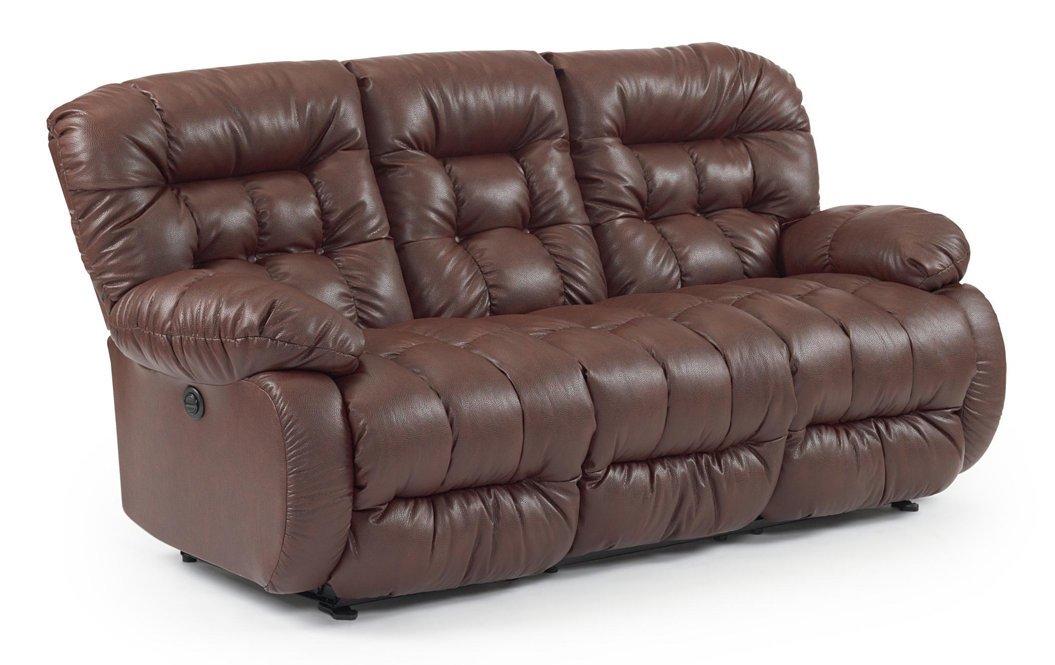 Best Home Furnishings Plusher Space Saver Reclining Sofa