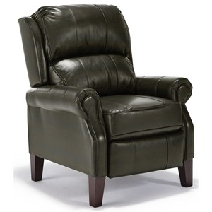 Best Home Furnishings Recliners - Pushback Joanna Three-way Recliner
