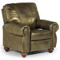 Best Home Furnishings Recliners - Pushback Fleck Hi Leg Recliner - Item Number: -1797286750-24787U