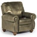 Best Home Furnishings Recliners - Pushback Fleck Hi Leg Recliner - Item Number: -1797286750-27597U