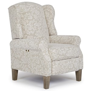 Vendor 411 Recliners - Pushback Danielle Power High Leg Recliner