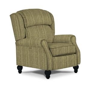 Best Home Furnishings Recliners - Pushback Patrick Powerized Recliner