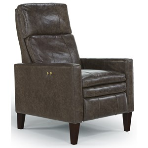 Best Home Furnishings Recliners - Pushback Myles High Leg Recliner