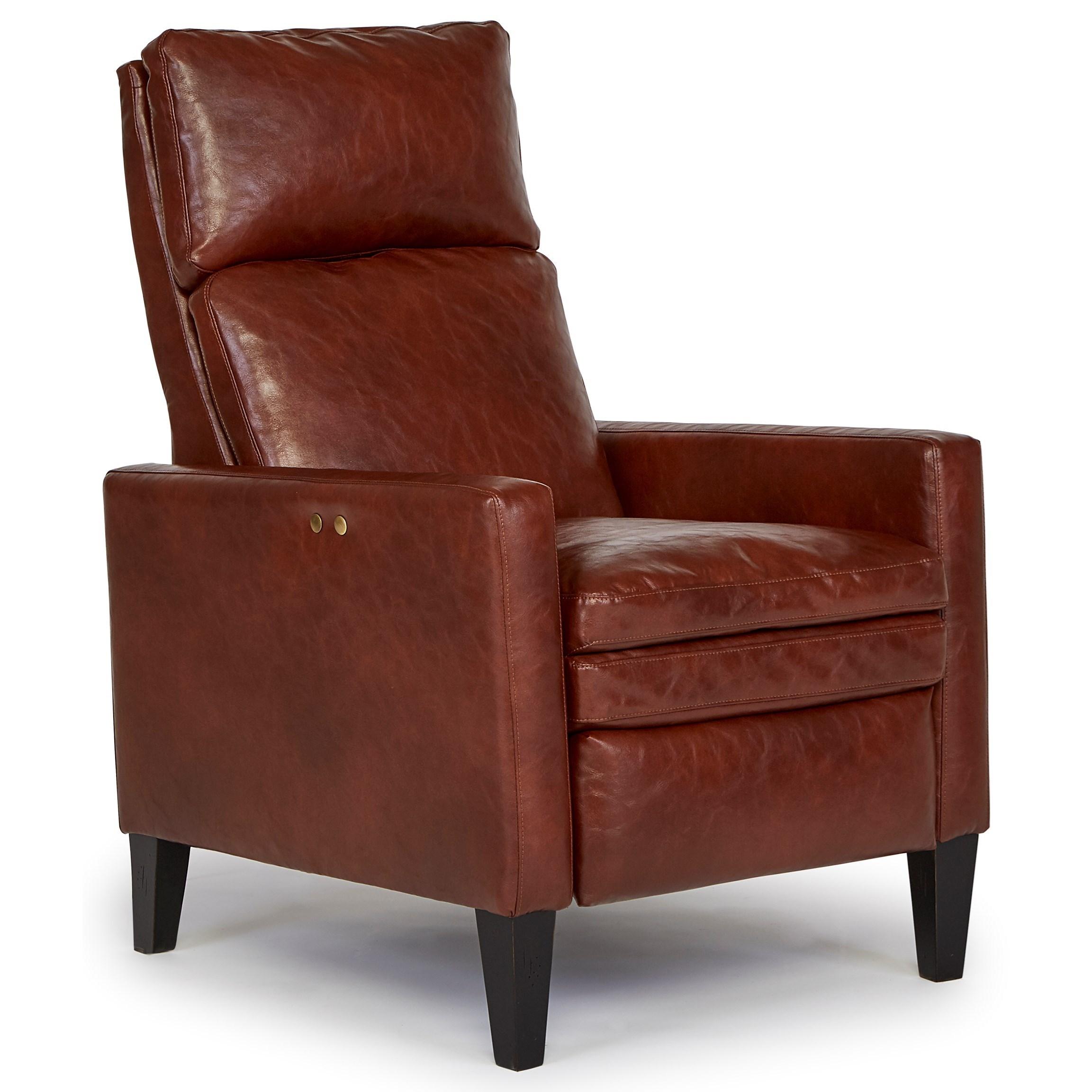 Best Home Furnishings Pushback Recliners Myles High Leg Recliner Wayside Furniture High Leg