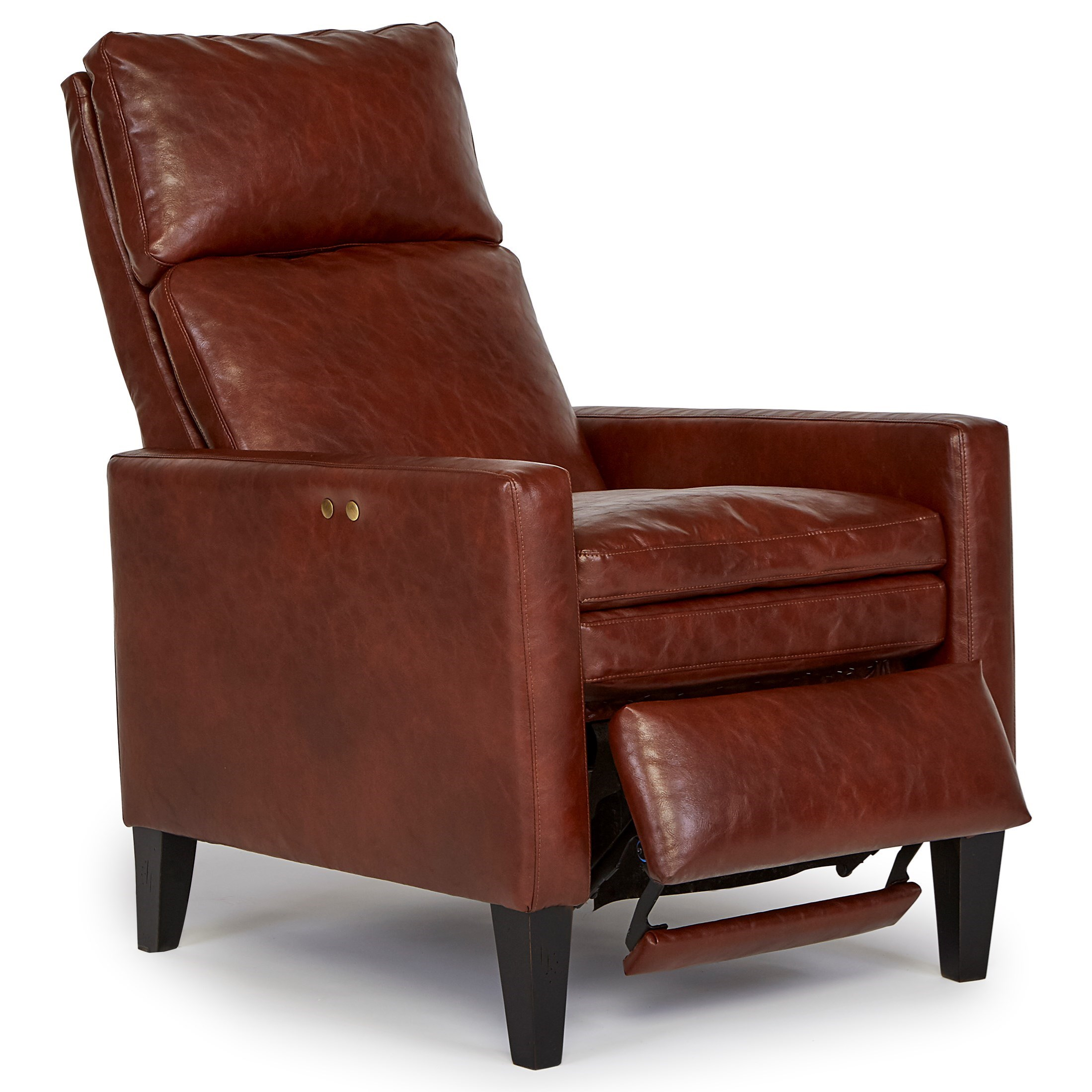 Best home furnishings pushback recliners myles high leg for Best home furnishings