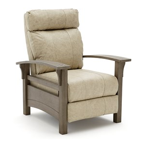 Best Home Furnishings Recliners - Pushback Graysen Recliner